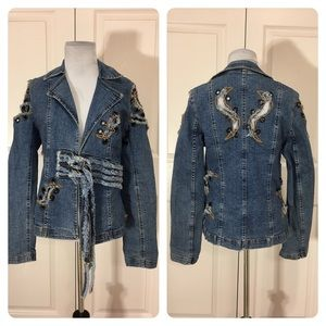 Vintage Eclipse Lunar denim jacket